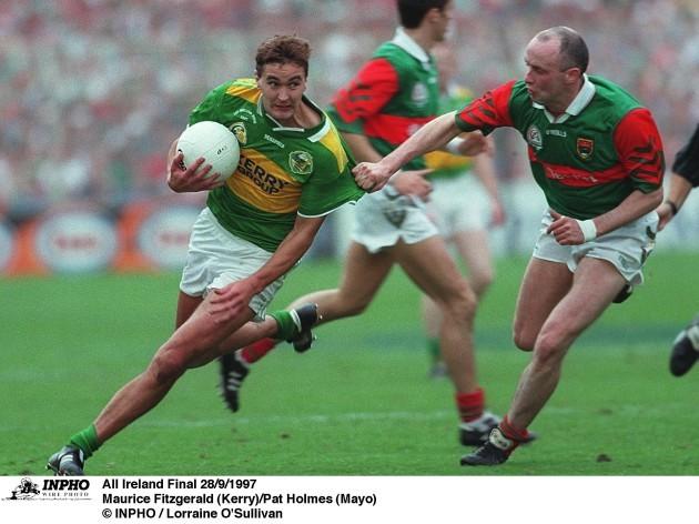 Maurice Fitzgerald (Kerry)/Pat Holmes (Mayo) 28/9/1997