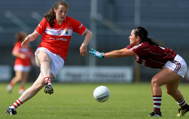 Aine O'Sullivan with Fabienne Cooney