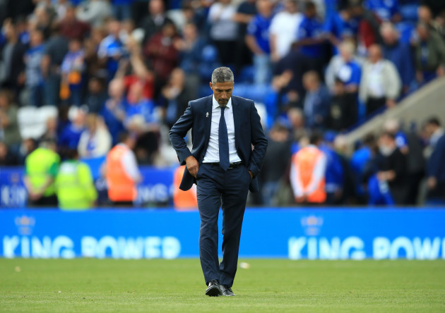 Leicester City v Brighton and Hove Albion - Premier League - King Power Stadium