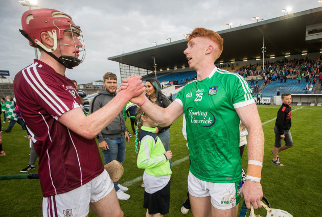 Cian Lynch with Geared Loughnane after the game