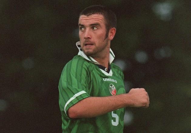 Derek Coughlan Republic of Ireland Under 21 4/9/1998