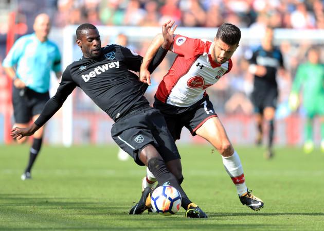 Southampton v West Ham United - Premier League - St Marys