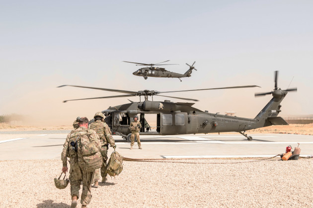 U.S. Military in Kunduz Afghanistan