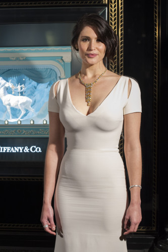 Gemma Arterton Tiffany's photocall - London