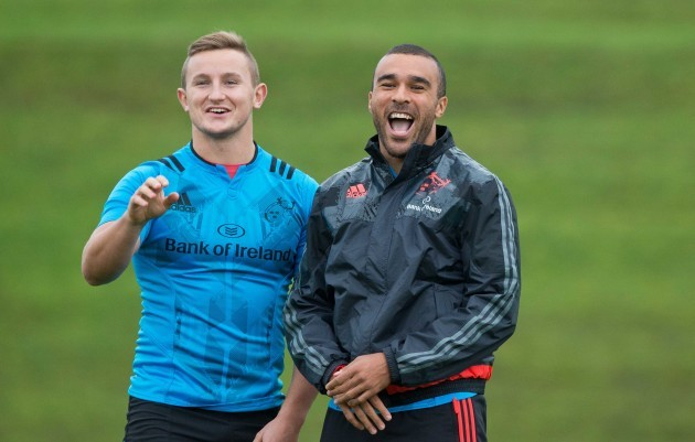 Cian Bohane and Simon Zebo
