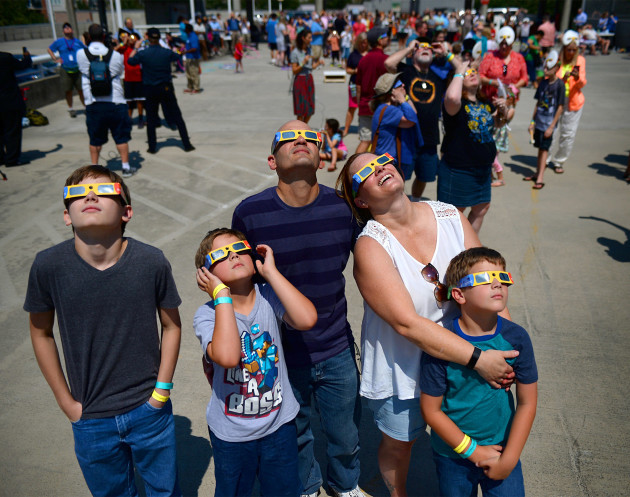Skywatchers Are Treated To A Spectacular Coast-To-Coast Eclipse - USA