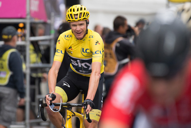 Christopher Froome Wins Tour De France - Paris