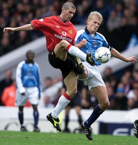 Man City v Man Utd Keane
