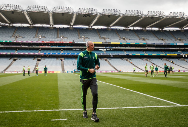 Kieran Donaghy before the game