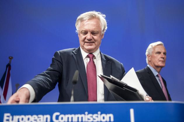 Brexit negotiations press conference