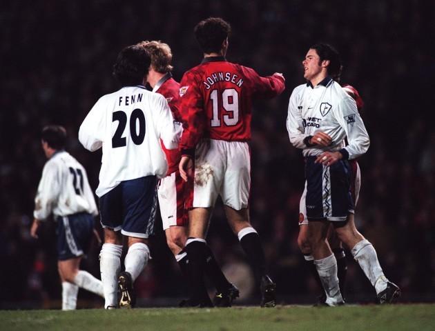 Soccer.  Manchester United v Tottenham Hotspur