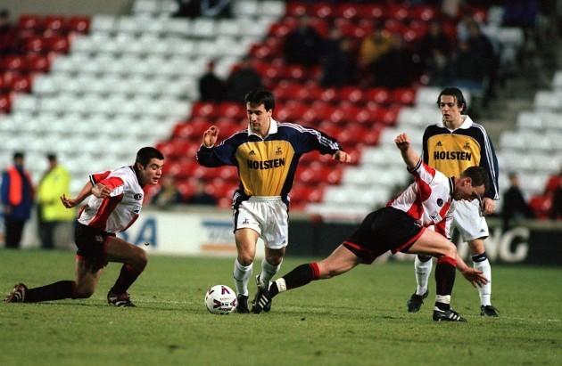 Soccer - FA Premier Reserve League South - Southampton v Tottenham Hotspur