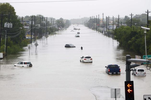 U.S.-TEXAS-HOUSTON-FLOOD