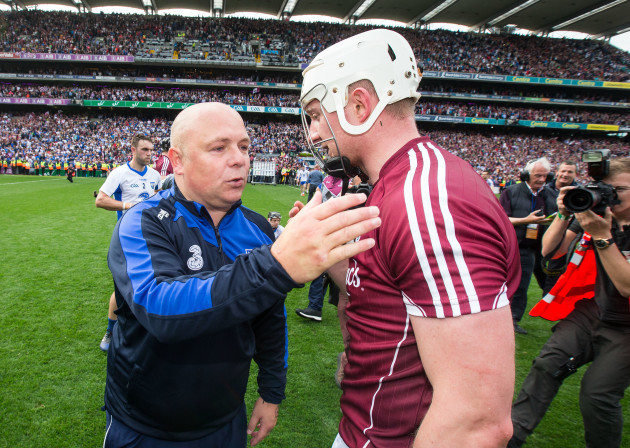 Joe Canning and Derek McGrath