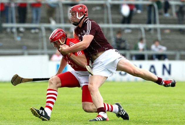 Joe Canning Tackles John Gardiner