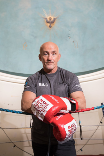 Barry McGuigan launches Blood Cancer Awareness Month-9
