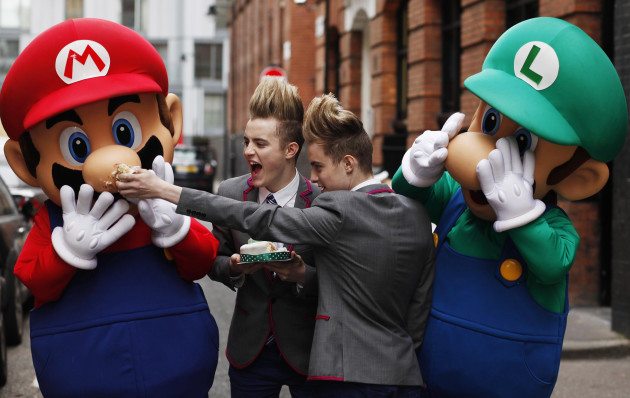 Jedward unveiled as Nintendo ambassadors