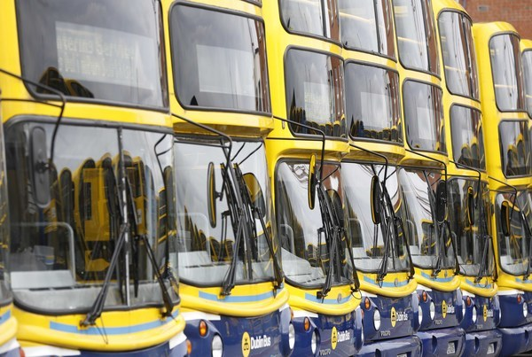 File Photo Results of a tendering competition for 10% of Dublin Bus routes are due to be announced by the National Transport Authority