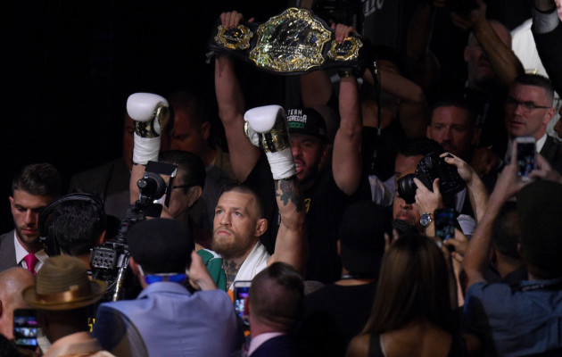 McGregor and Mayweather clash saw almost 7000 empty seats at venue