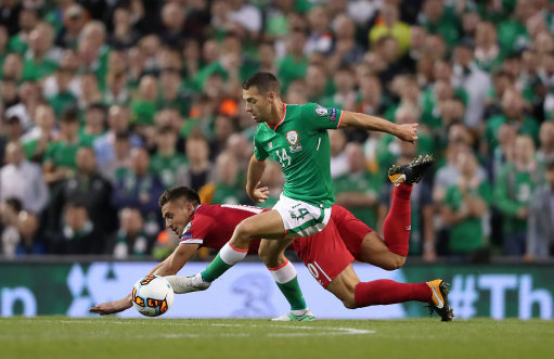 Republic of Ireland v Serbia - 2018 FIFA World Cup Qualifying - Group D - Aviva Stadium