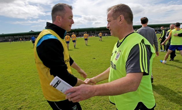 Niall Carew and Colm Collins