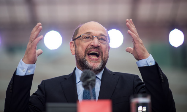 SPD election campaign with Martin Schulz