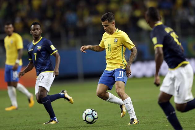 Brazil Ecuador Wcup Soccer