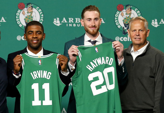 Celtics New Additions Basketball