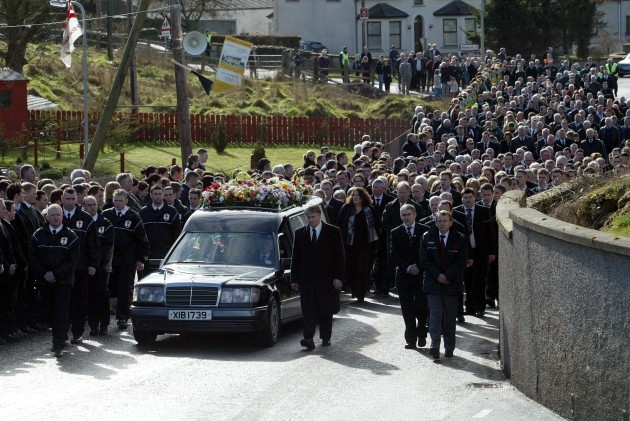 Cormac McAnallens Funeral 5/3/2004