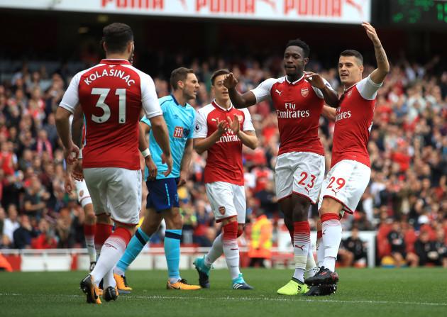 Arsenal v AFC Bournemouth - Premier League - Emirates Stadium