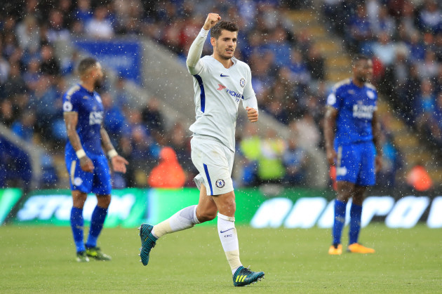 Leicester City 1 Chelsea 2: Morata, Kante keep up winning run
