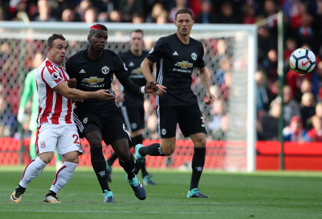 Stoke City v Manchester United - Premier League - bet365 Stadium