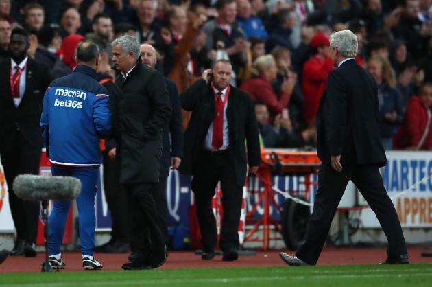 Stoke City v Manchester United - Premier League - bet365 Stadium