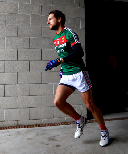 Tom Parsons takes to the field