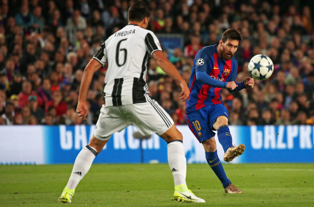 Spain: FC Barcelona v Juventus - UEFA Champions League Quarter Final: Second Leg