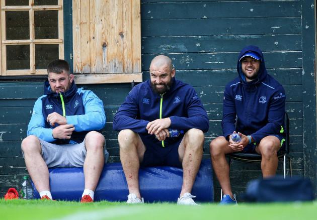 Sean O'Brien, Scott Fardy and Jamison Gibson-Park