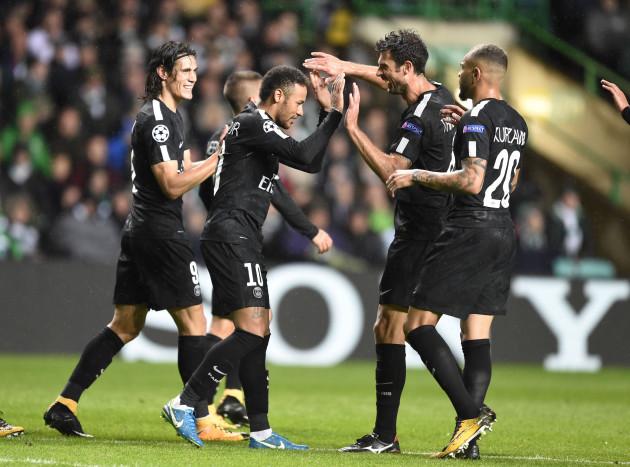 Celtic v Paris Saint-Germain - UEFA Champions League - Group B - Celtic Park
