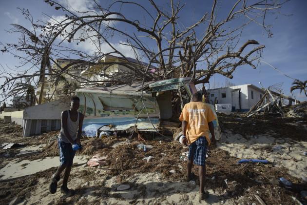 St. Martin Huricane Irma