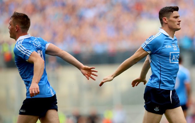 Con O'Callaghan replaced by Diarmuid Connolly