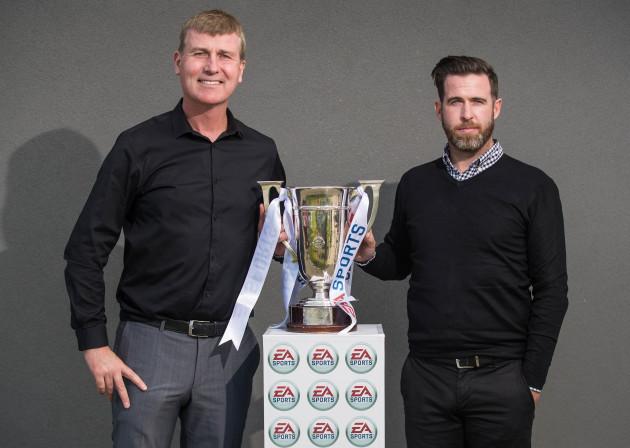 Stephen Kenny with Stephen Bradley