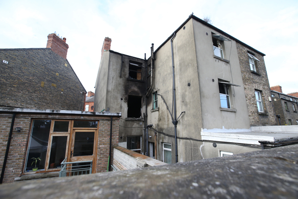 Three people injured in house fire in Rathmines