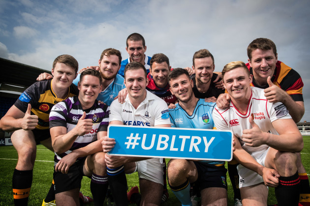 Launch of the Ulster Bank League  Try Of The Month Competition