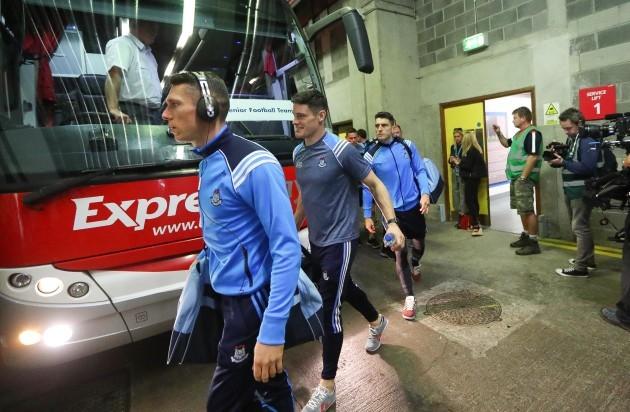 Diarmuid Connolly arrives
