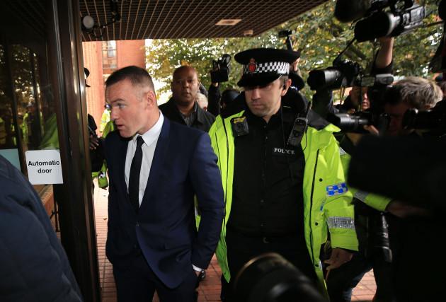 Wayne Rooney court case