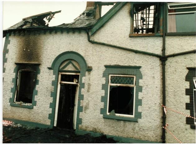 Fire Church Lane Kilcock 2 20-9-1987