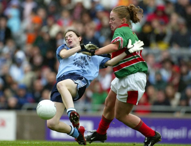 Clare Egan and Sinead Ahern
