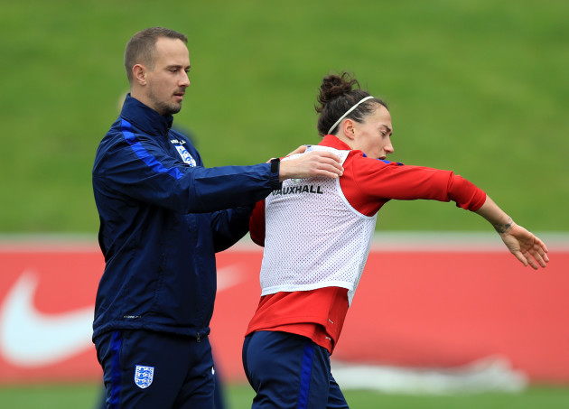 England Women Training Session - St George's Park