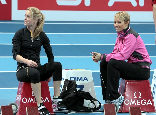 Ailis McSweeney and Derval O'Rourke