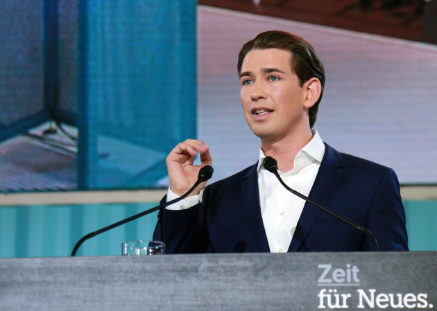 AUSTRIA-LINZ-PEOPLE'S PARTY-LEADERSHIP