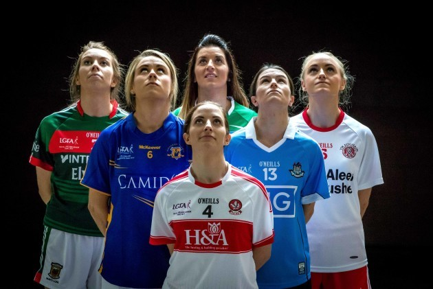 Sarah Tierney, Samantha Lambert, Cait Glass, Aine McGovern, Sinead Ahearne and Neamh Woods